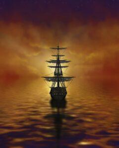 sail, boat, sea