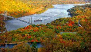 landscape, river, scenic
