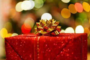 christmas present, box, celebration