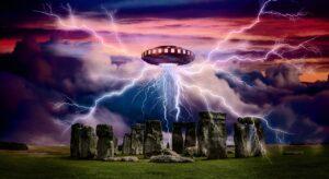 alien, ufo, spaceship